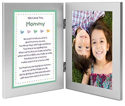 Amazon.com - Poetry Gifts Gift for Mommy From Sons or Daughters in ...
