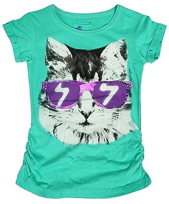 Girls T-Shirt Disney Daisy Duck Cartoon Tee Cotton Sun Fashion Top 4 to 14 Years