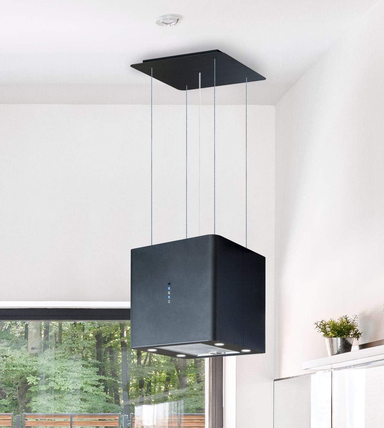 Xberg Premium Design - Campana extractora de techo para insectos (incluye mando a distancia, iluminación LED)