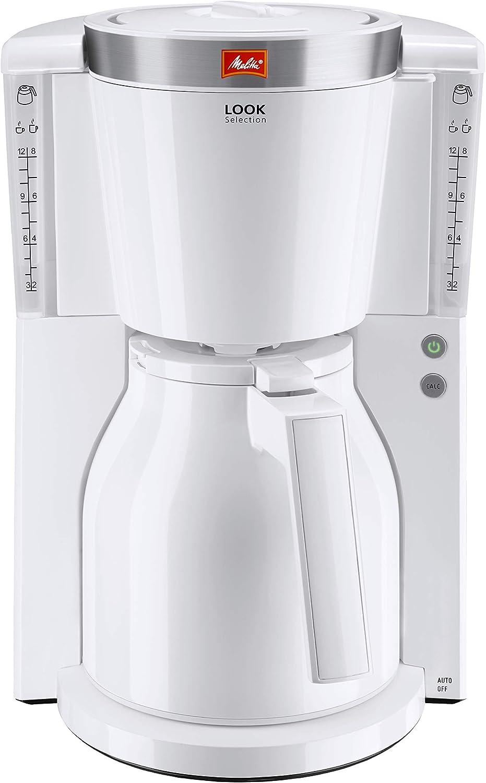 Melitta Macchina da caff/è con filtro Thermos bianco
