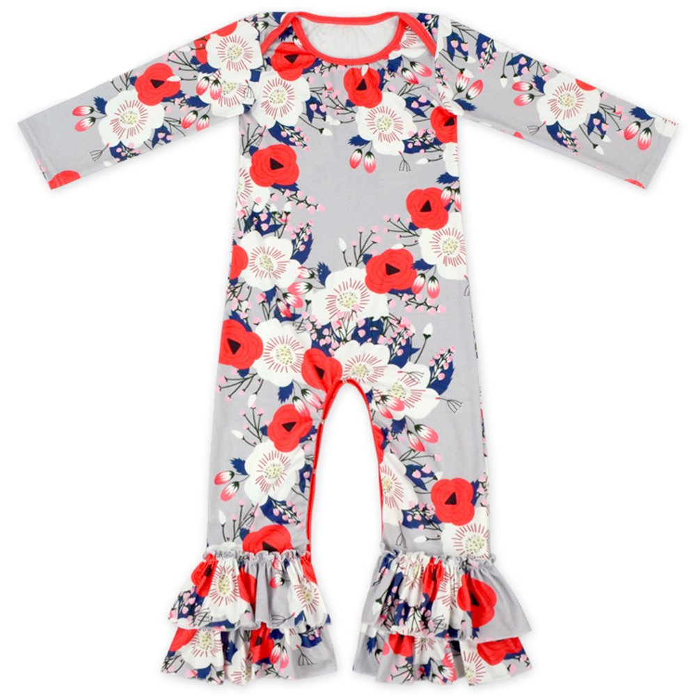 c69364bc0a6 Galleon - Anbaby Baby Girls Cute Romper Bodysuit Clothes (12-24 Months