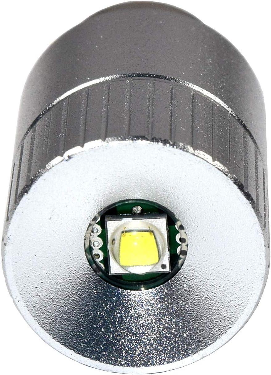MagLite compatible MAG NUM-STAR II bi-pin Ampoule LED Conversion et pour lampe de poche MagLite Lampe torche /à 6 piles D//C Lampe torche CREE