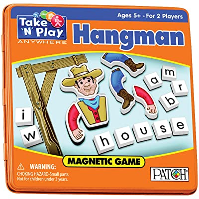 Take 'N' Play Anywhere Games- Hangman: Toys & Games