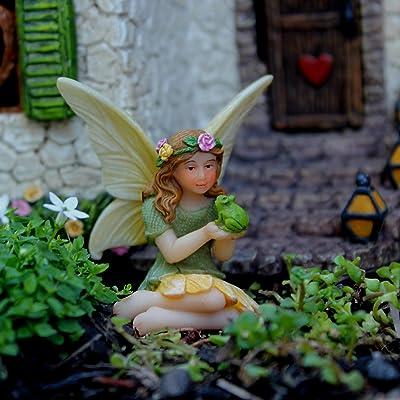 Fairy Garden Welcome Sign Accessories Figurines
