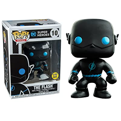 Funko Pop! Vinyl Justice League The Flash Silhouette Glow in the Dark Entertainment Earth Exclusive: Toys & Games