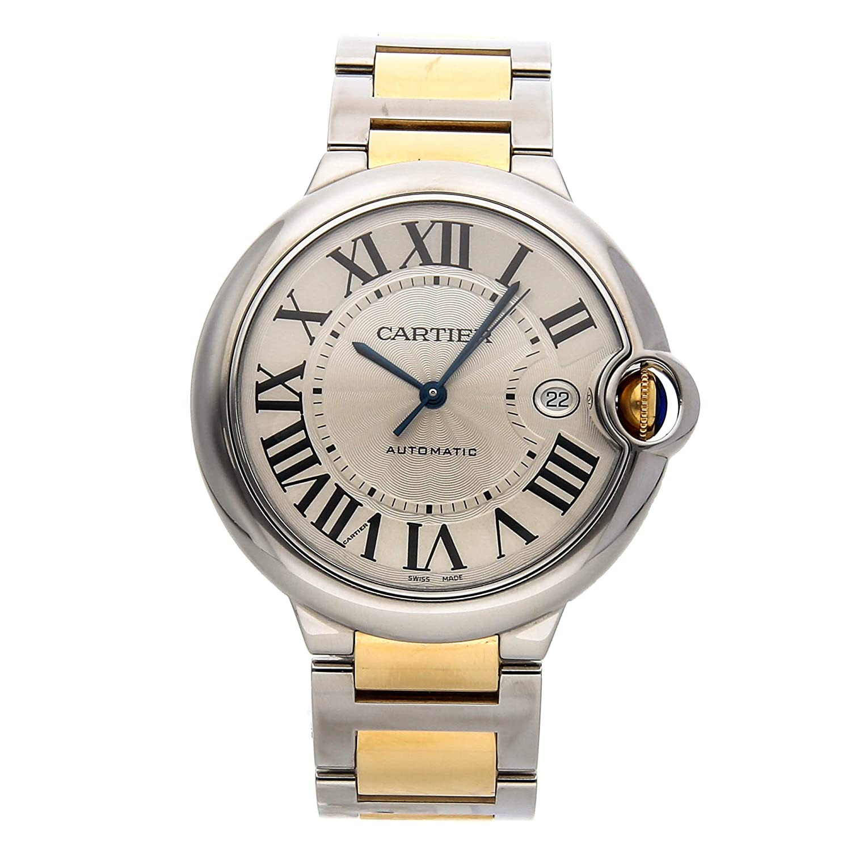 fefbc55f8a1cf Amazon.com: Cartier Ballon Bleu de Cartier Mechanical (Automatic) Silver  Dial Mens Watch W69009Z3 (Certified Pre-Owned): Watches