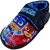 P J Masks Were On Blue Slippers Various Sizes