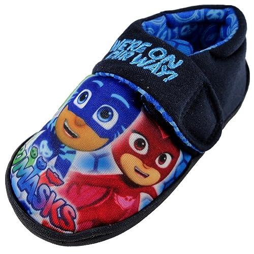 PJ Masks - Zapatillas Bajas para Chico, Color Azul, Talla 23.5 EU Niño