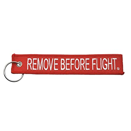 Amazon.com  Apex Imports Remove Before Flight Key Chain Aviation ATV ... 17a45c3ba3