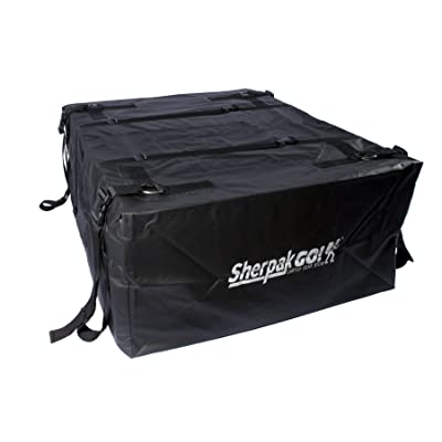 Seattle Sports Sherpak Go!15 Waterproof Cartop Storage Cargo Bag Carrier for Car Rooftop: Sports & Outdoors