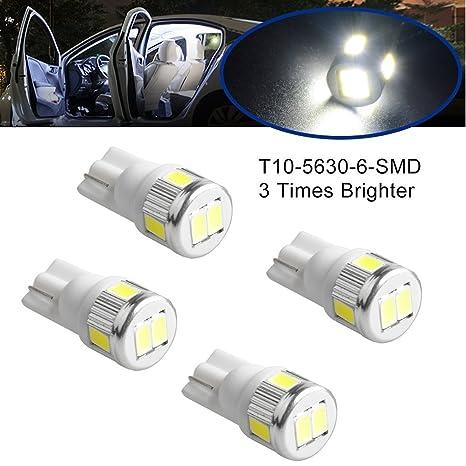 T10 Bombilla LED, Osram Chip 194 T10 168 175 2825 W5 W 6000 K Blanco