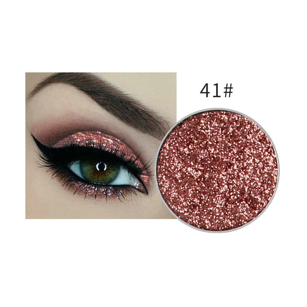 45 Bright Colors Eyeshadow Palette,Barhalk Shimmer Gloss Powder Palette Metallic Eyeshadow Pressed Matte Eyeshadows Pigmented Makeup Waterproof Professional Cosmetic Eye Shadow