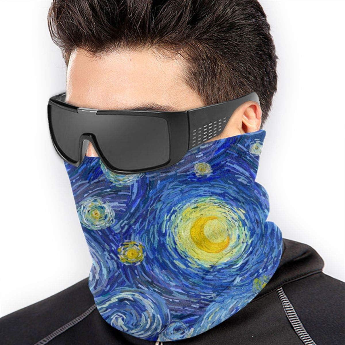Akhy Multifunctional Headwear Face Mask Headband Neck Gaiter Happy Sloth Balaclava for Men and Women