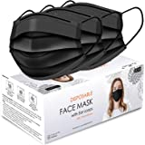 Face Masks for Protection, Colorful Disposable Face Mask Colorful-Black