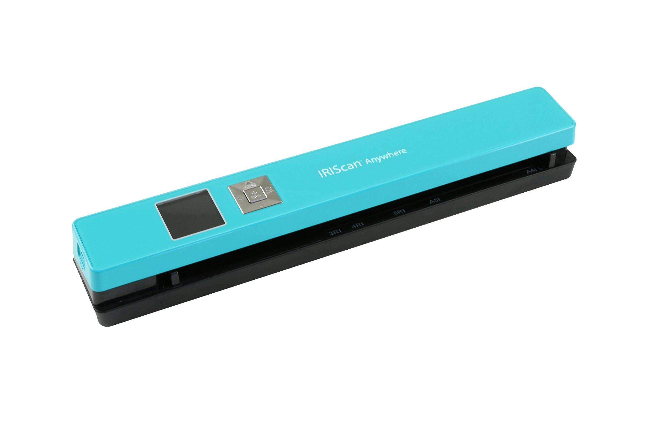 IRISCan Anywhere 5 Document Image Portable Mobile Color Scanner, Turquoise