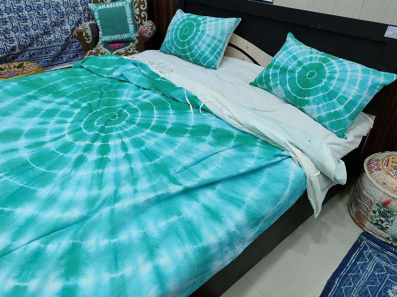Coton Duvet Bohemian Doona Duvet Cover Tie Dye Quilt Cover Comforter Set Blanket Cover Mandala Duvet Doona Cover With Pillowcases Handmade