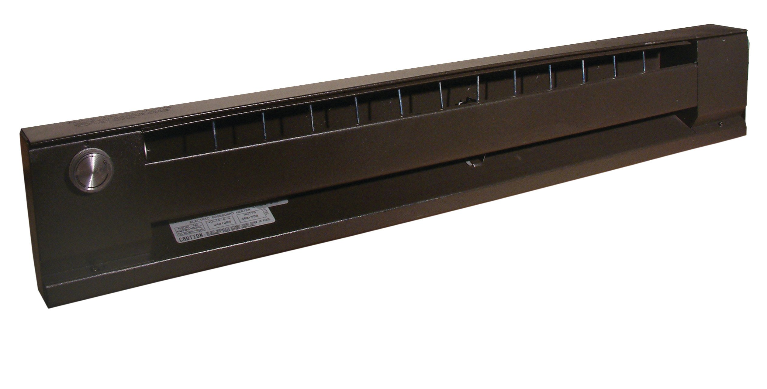 TPI BBS048C Blank Section for Series 2900C Electric Baseboard, 48'' Length, Bankers Bronze by TPI