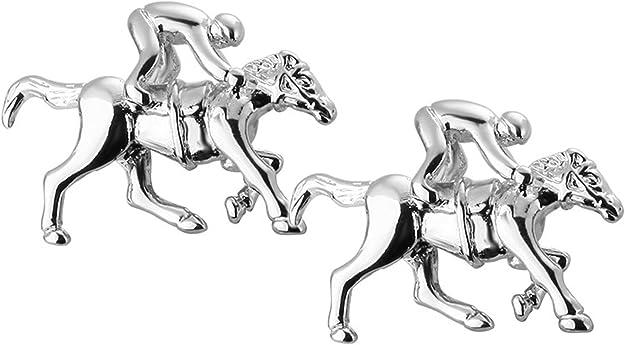 Caballo de carreras Jockey-gemelos 3D Lente de vidrio-para Hombre Regalo-apostador reunión