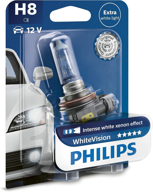 Philips Blue Vision H8 Glühlampe Leuchtmittel 12V 35Watt