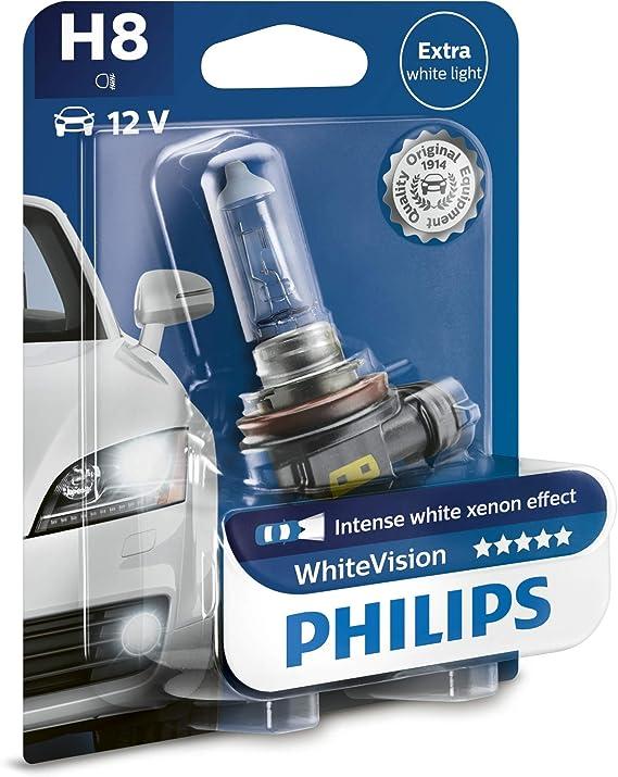 Philips Whitevision Xenon Effekt H8 Scheinwerferlampe 12360whvb1 Einzelblister Auto