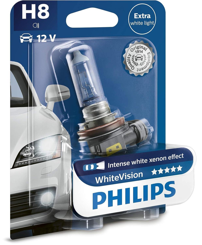Philips WhiteVision effet x/énon H8 pour /éclairage avant 12360WHVB1 blister de 1