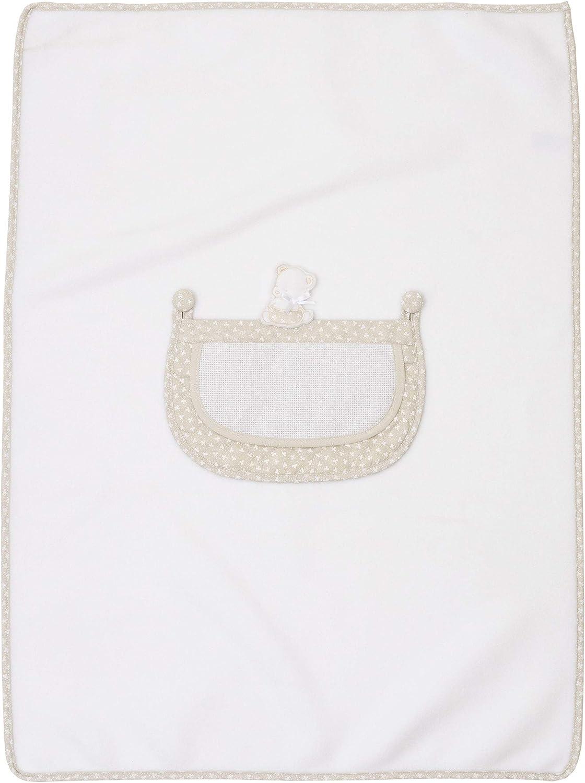 Filet – Manta de polar suave para niños/recién nacidos, 60 x 80 cm, color gris
