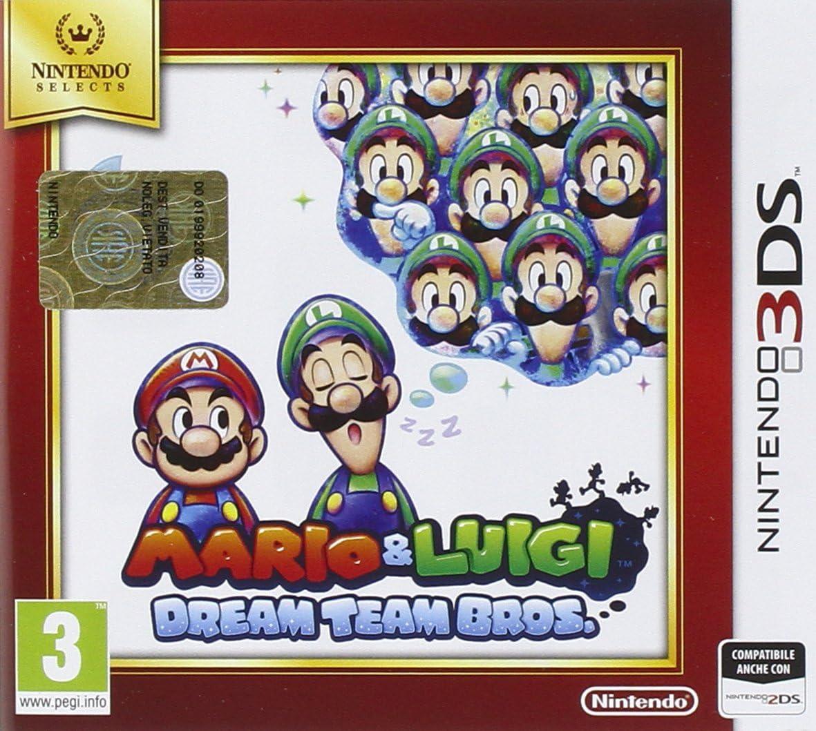 Mario & Luigi: Dream Team Bros - Nintendo Selects [Importación Italiana]