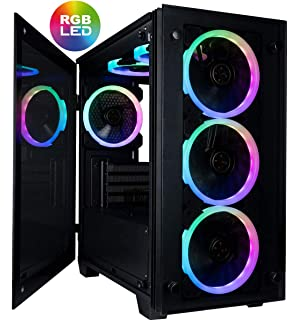 Amazon.com: CUK Mantis Full ATX Tower Gaming Desktop Case ...