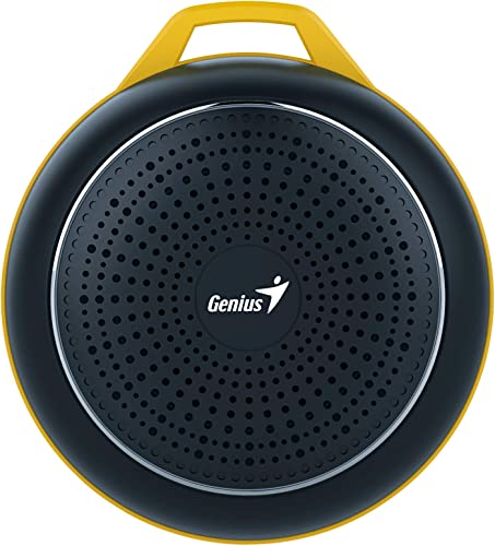 Genius SP-906BTBlack Outdoor Portable Bluetooth Speaker Black