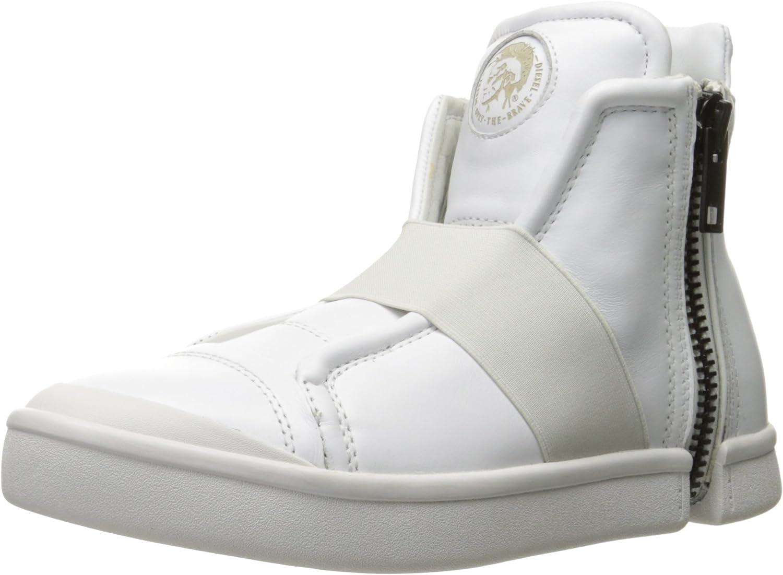 diesel zip round sneakers