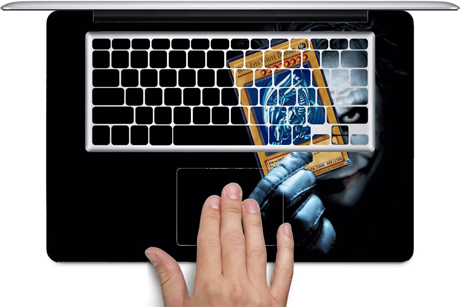 MWCustoms Blue Eyes Ledger Mash up Art Keyboard Decals for 13 and 15 inch MacBook Air//Pro//Retina