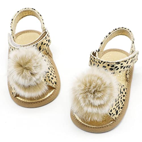 953bc5d6d5e089 Aniwon Baby Girl Sandals Girl Flat Sandals Fashion Leopard Print Toddler  Sandals for Summer  Amazon.ca  Shoes   Handbags