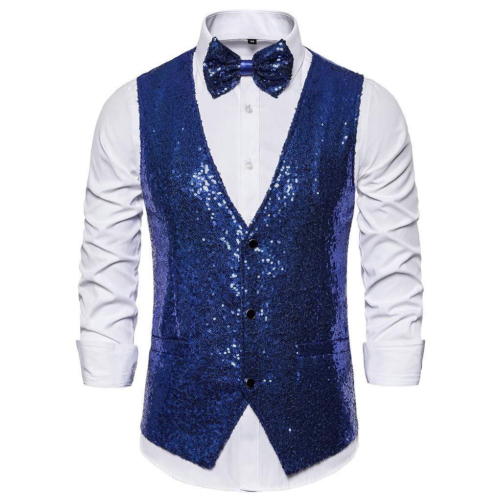 Giacche da abito DAY8 Gilet di Paillettes Slim Fit Blazer