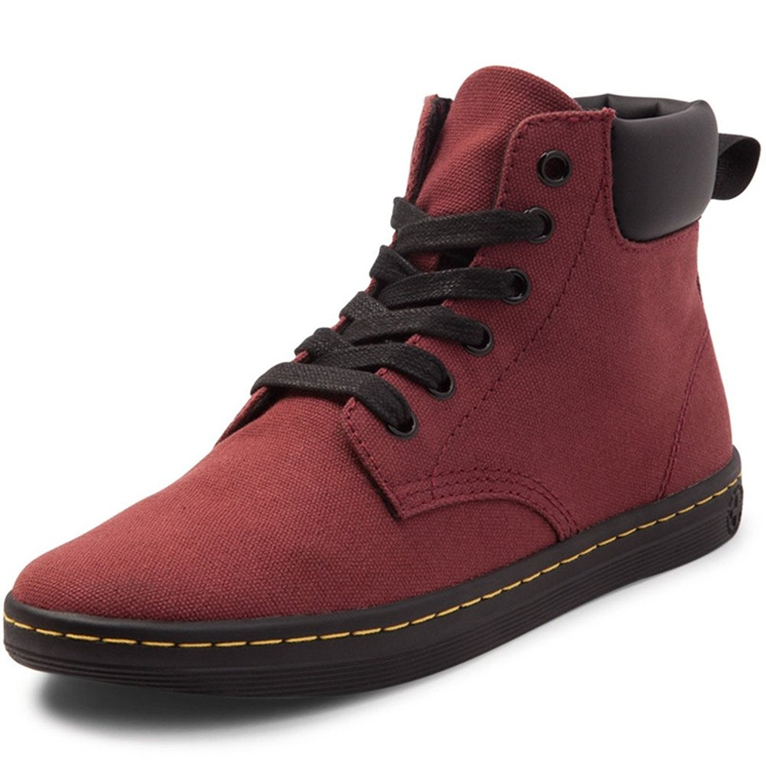 Dr. Martens Women's Maelly Fashion Boot B07BDWNP34 7 Medium UK (9 US)|Cherry Red