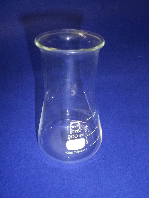 Matraz Erlenmeyer weithals con divisiones Schott Duran Cristal w 550800/X X 1 50 ml