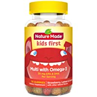 Deals on Nature Made Kids First Multi + Omega-3 Gummies