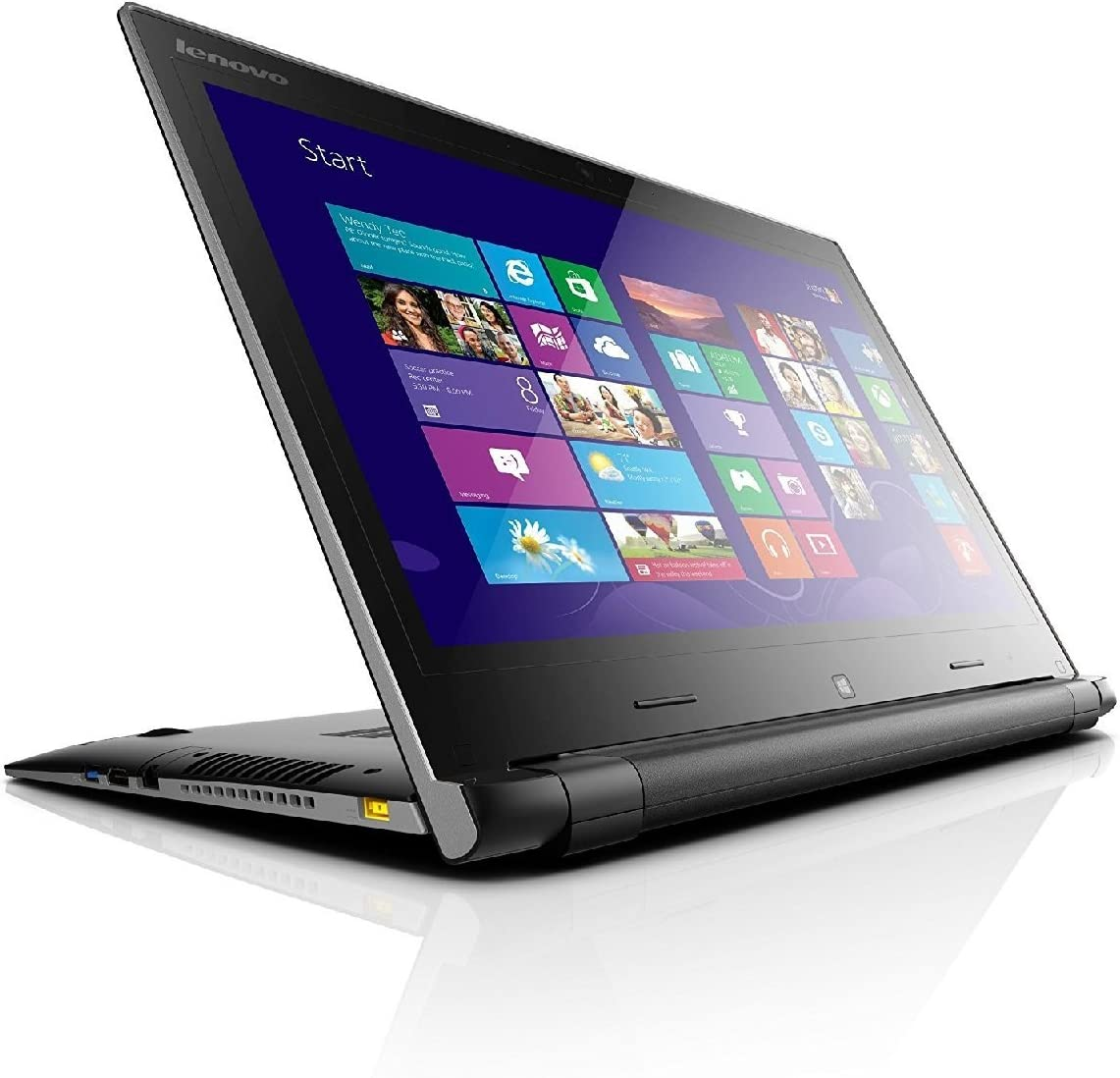 "Lenovo Flex 81EM0008US 14"" Touchscreen 1920 x 1080 Convertible 2-in-1 Laptop Intel Core i5 8th Gen 8250U (1.60 GHz) 8 GB Memory 256 GB PCIe SSD NVIDIA GeForce MX130 Win10 (Renewed)"