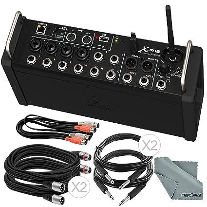 Amazon.com: Behringer X aire XR12 mezclador Digital para ...