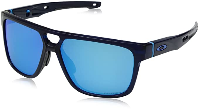 c2a8749db948 ... discount oakley mens crossrange patch 938203 sunglasses matte  translucent bluee prizmsapphire 10aea 33ab1