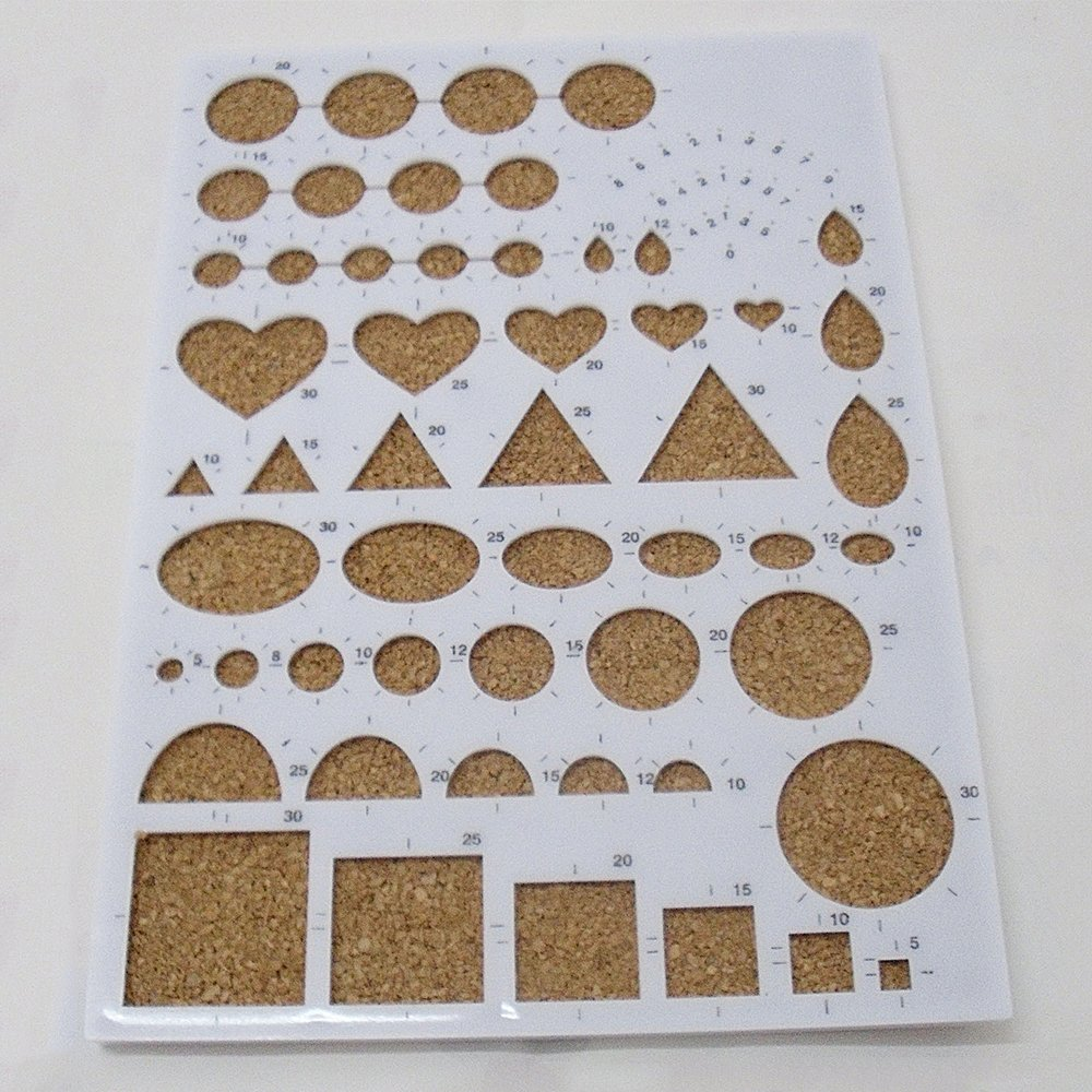 Amazon.com: lecimo Paper Quilling Template Mold Board DIY Craft ...