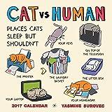 CAT vs HUMAN 2017 Wall Calendar