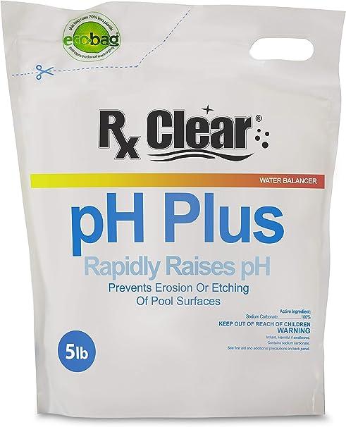 Amazon Com Rx Clear Swimming Pool Ph Plus Rapid Raises Ph