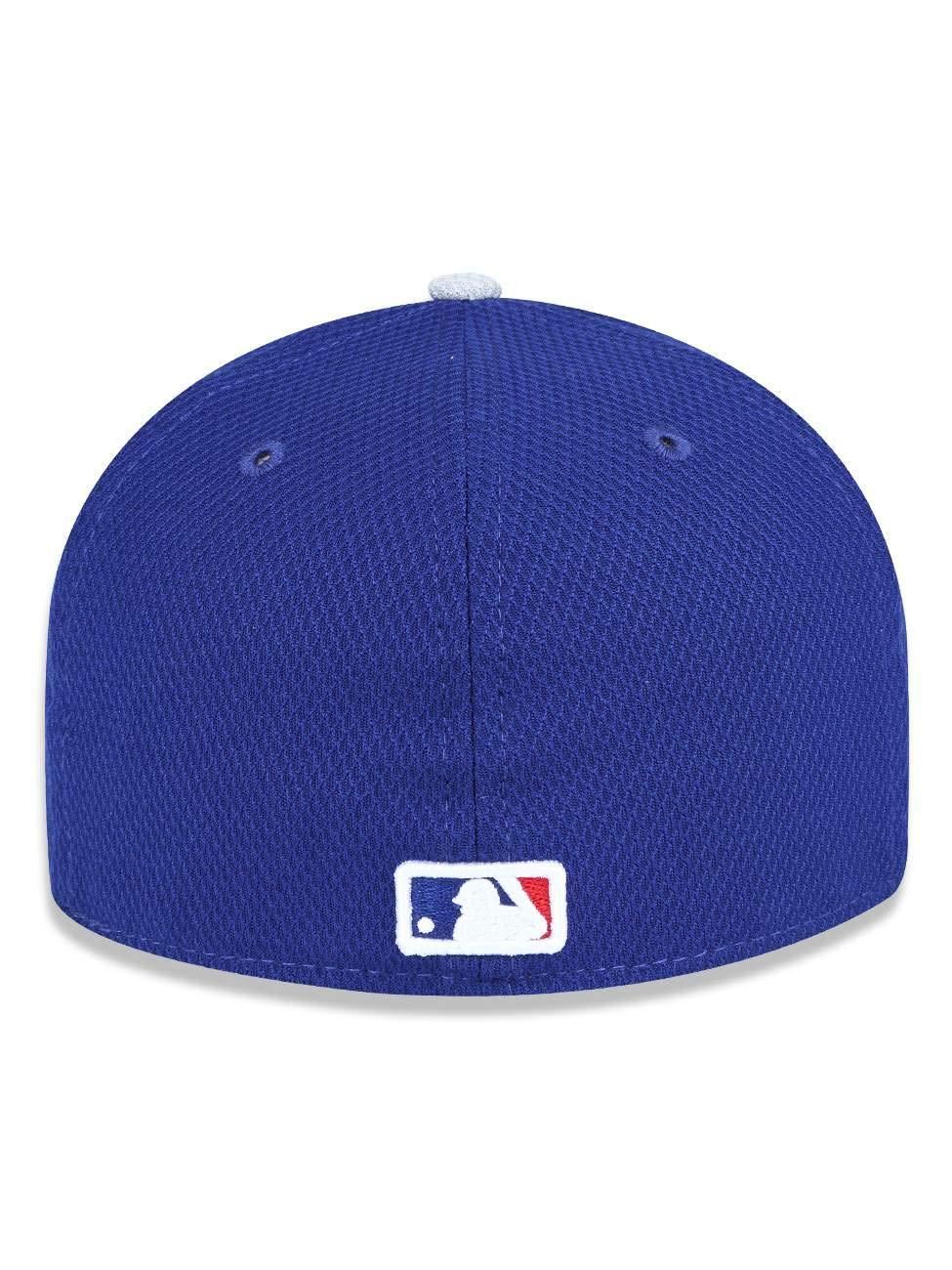 747e2bb1010a5 Boné New Era MLB Los Angeles Dodgers 5950 Azul  Amazon.com.br  Esportes e  Aventura