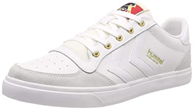 e2b4a18b2bf Hummel Unisex-Erwachsene Stadil Low Sneaker Weiß (White 9001) 41 EU