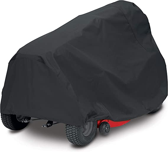 AmazonBasics Black Riding Mower Cover - Large