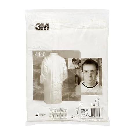 3M/™ 4440 Camice da laboratorio Bianco Visitatore taglia 2XL.