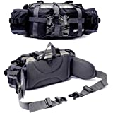 Bp Vision Outdoor Fanny Pack Hiking Fishing Waist Bag 2 Water Bottle Holder Lumbar Pack
