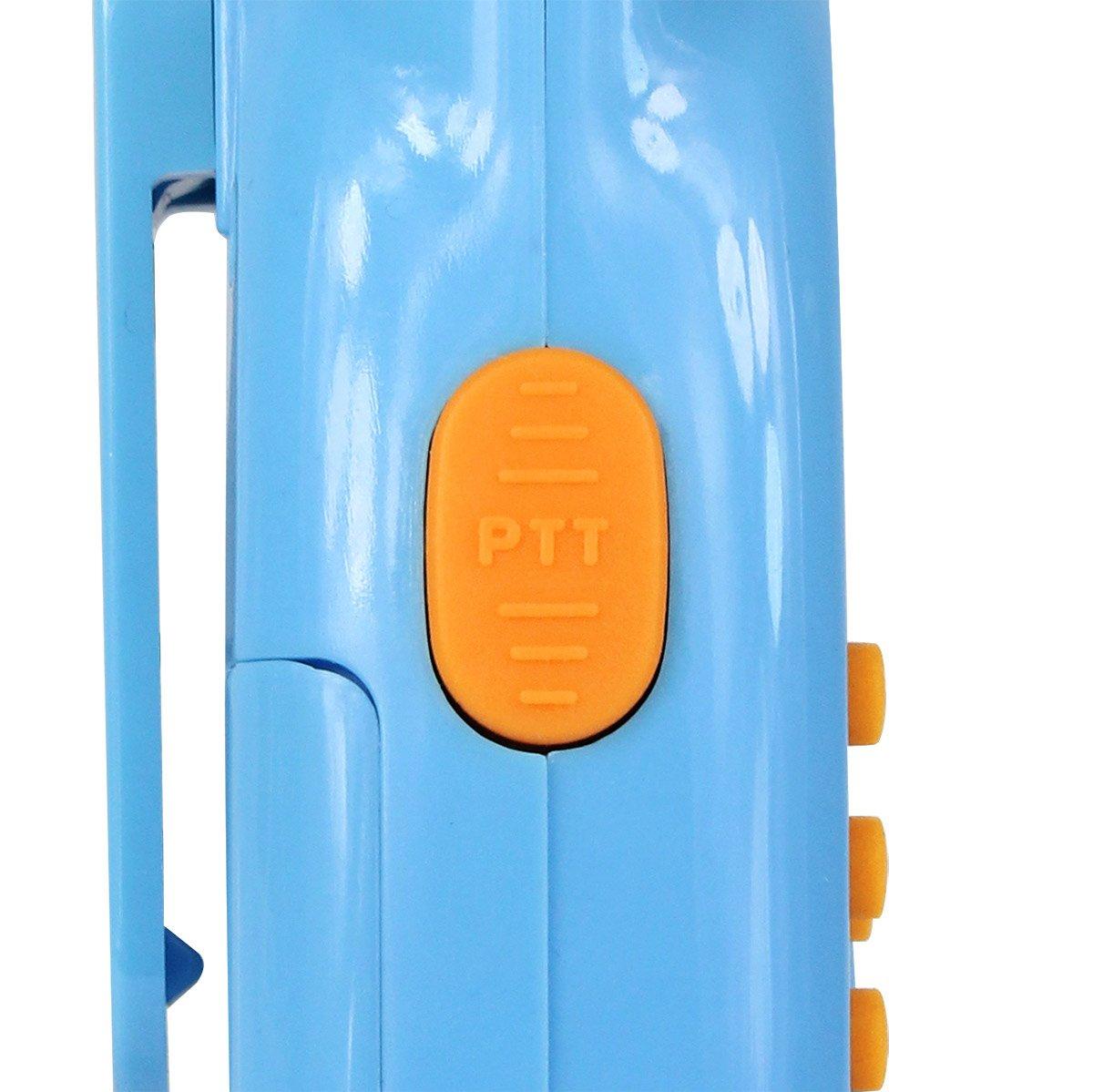 Retevis RT-35 Kids Walkie Talkies 22 Channels VOX Rechargeable walkie Talkie with Digital Clock Alarm (Bule, 1 Pair) by Retevis (Image #9)