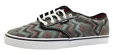 0ae00fd61b Size 8 Women s Atwood Low Vans Tribal Print Lace Up Canvas Shoes ...