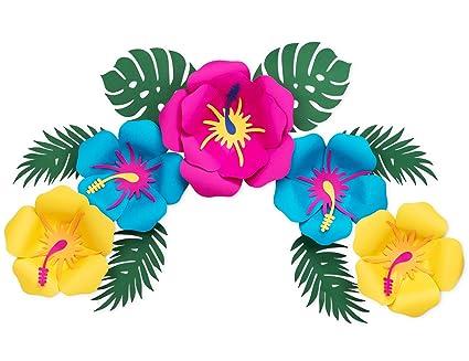 Amazoncom Hawaiian Luau Decorations Aloha Tiki Pool Party Supplies